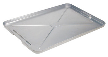 "Plews Galvanized Drip Pan, 17 1/2"" x 25 3/4"" x 1"" (1 EA/EA)"