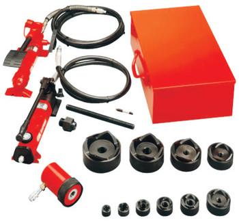 Gardner Bender Slug-Out Hydraulic Knockout Sets, 12 gauge (stainless), 10 gauge (mild) (1 ST/EA)