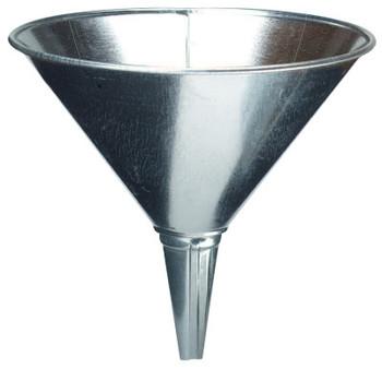Plews Funnels, 2 qt, Galvanized Steel, 8 in dia. (1 EA/EA)