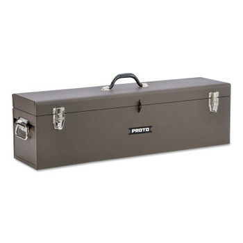 Stanley Products Carpenter's Boxes, 8 1/2 in D x 9 1/2 in H, Steel, Brown (1 EA/EA)