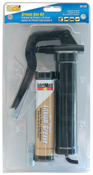 "Plews Grease Gun Kits, 3 1/2"" Rigid Pipe, Coupler; 3oz Tube of Multi-Purpose Grease (5 KIT/EA)"