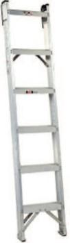 Louisville Ladder 12' MASTER SHELF LADDERALUMINUM (1 EA/EA)