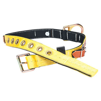 MSA Tongue-Buckle Body Belts with D-Rings, Tongue Buckle, X-Small (1 EA/PR)