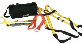 MSA Workman Fall Protection Kits, X-Large (1 EA/PR)