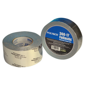 "Berry Global Foilastic Butyl Seal & Repair Tapes, 2.83"" X 1,188"", 17 mil, Aluminum - Printed (1 RL/PR)"