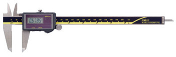 Mitutoyo Series 500 ABS Solar Digimatic Calipers, 0 in-8 in, Hardened  Steel, W/O SPC (1 EA/PK)