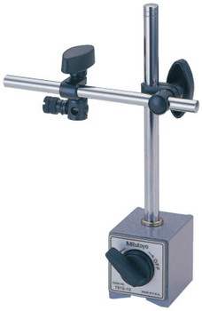 "Mitutoyo Magnetic Base,132 lbf,w/6"" Rod and Clamp,w/Fine Adjustment;Magnetic Stand,3/8"" (1 EA/CA)"