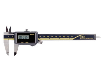 Mitutoyo Series 500 ABS Solar Digimatic Calipers, 0 in-6 in, Hardened  Steel, SPC (1 EA/CA)