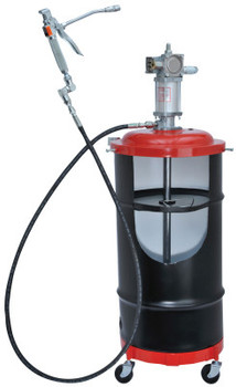 Lincoln Industrial Air-Operated Portable Grease Pumps, 120 lb, 50:1 (1 EA/DZ)