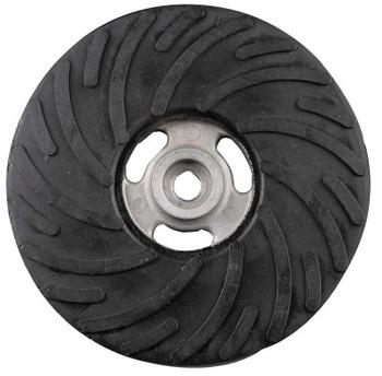 "CGW Abrasives 5"" X 5/8-11 MEDIUM BACK-UP PAD W/O NUT (1 EA/BAG)"