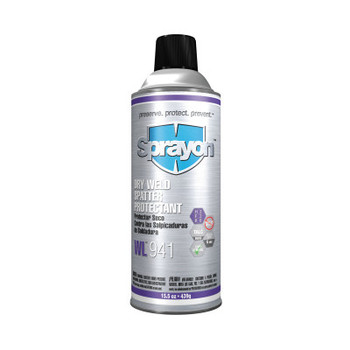 Krylon Industrial Dry Weld Spatter Protectants, 12 oz Aerosol Can, White (12 CA/BAG)
