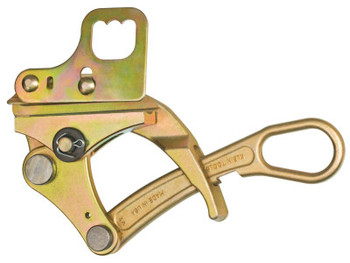 Klein Tools Parallel-Jaw Grips, Parallel Jaw, 5,000 lb Cap., Hot Latch, Locking Handle (1 EA/EA)