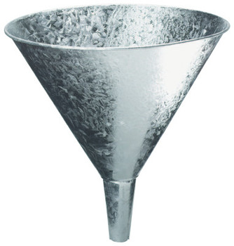 Plews Funnels, 7 pt, Galvanized Steel, 9 3/4 in dia. (1 EA/EA)