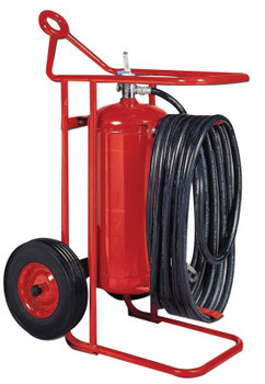 Kidde Wheeled Fire Extinguisher Units,  Class A, B and C Fires, 50 lb Cap. Wt. (1 EA/EA)