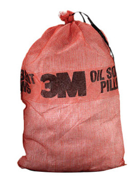 3M Petroleum Sorbent Pillows, Absorbs 3.5 gal, 24.38 in x 27.46 in (10 BAL/EA)
