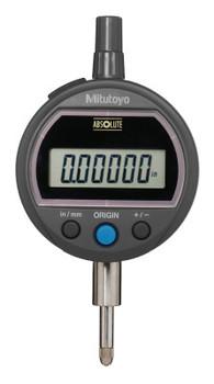 Mitutoyo Digital Indicators ID-S Solar, 0.5 in; 4-48 UNF Thread, Flat Back (1 EA/EA)
