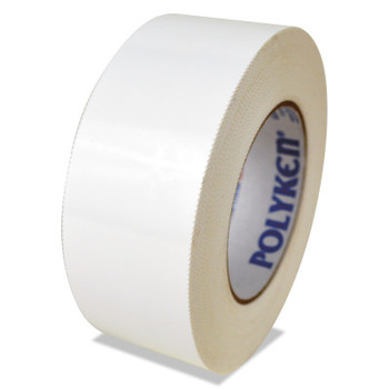 Berry Global 833 Multi-Purpose PE Film Tapes, 72 mm X 55 m, 7.5 mil, White (16 RL/EA)