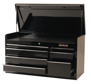 Stanley Products 7 Drawer Top Chests, 41 in x 18 in x 23 in, Black (1 EA/EA)
