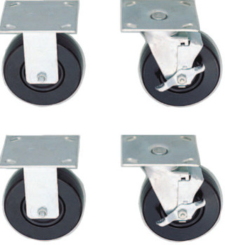 Stanley Products CASTER SET OF 4 REG PROT (1 SET/BX)