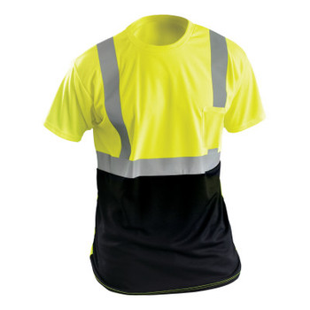OccuNomix M T-SHIRT BLACK AND YELLOW (1 EA/PK)