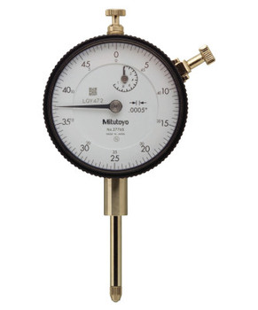 "Mitutoyo Series 2 Standard Dial Indicators, 0-50 Dial, 1 in Range, 0.05"" Range/Revolution (1 EA/EA)"
