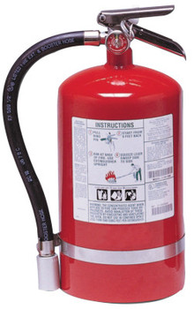 Kidde Halotron I Fire Extinguishers, For Class B and C Fires, 11 lb Cap. Wt. (1 EA/EA)
