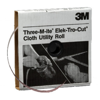 3M 211K Utility Cloth Rolls, 2 in, 50 yd, 80 Grit (1 EA/EA)