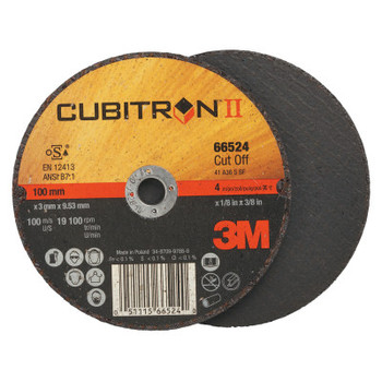 3M Flap Wheel Abrasives, 36 Grit, 19,100 rpm (50 CT/EA)