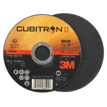 3M Flap Wheel Abrasives, .045 in Thick, 60 Grit, 13,300 rpm (50 CT/EA)