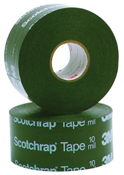 3M Scotchrap All-Weather Corrosion Protection Tapes 51, 100 ft X 2in, 20 mil, Black (12 ROL/BX)