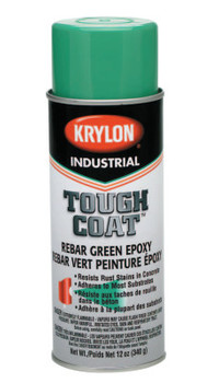 Krylon Industrial REBAR GREEN EPOXY 16 OZ(12 OZ FILL) (12 CAN/BX)