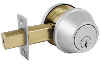 Master Lock COMM SGL CYL DEADBOLT SATIN CHROME KA4 SCHLAGE C (1 EA/BOX)