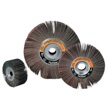 3M Aluminum Oxide Flexible Flap Wheel, 60 Grit, 4,700 rpm (1 EA/EA)