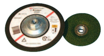 3M Flexible Grinding Wheel, Quick Change, 4 1/2 in Dia, 1/8 in Thick, 36 Grit (40 WH/EA)