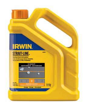 Stanley Products Hi-Visibility Marking Chalks, 2 1/2 lb, Hi Vis Orange (1 BTL/EA)