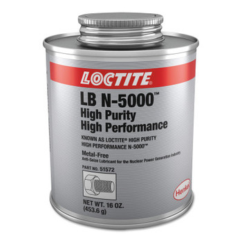 LOCTITE High Performance N-5000 High Purity Anti-Seize, 1 lb Can (1 CAN/EA)