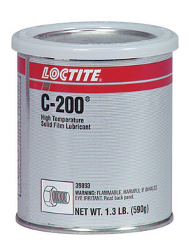 LOCTITE C-200 High Temperature Solid Film Lubricants, 1.3 lb Can (1 CAN/EA)