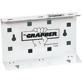 Kimberly-Clark Professional The Grabber Dispensers, Wall, Steel, White (1 EA/EA)