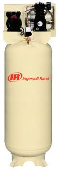 Ingersoll Rand 60 Gallon Electric-Driven Single-Stage Compressor, 3 hp, 230/1/60 Voltage (1 EA/BX)