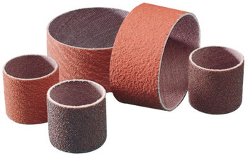 3M Regalite Polycut Coated-Cotton Cartridge Sleeve; Abrasive Evenrun Bands 747D (100 EA/DRM)