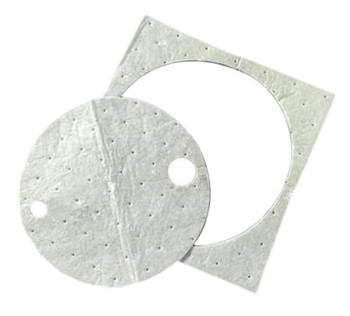 3M High-Capacity Sorbent Drum Covers, Absorbs .76 gal (25 CS/CTN)