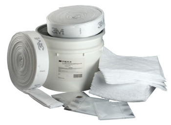 3M Petroleum Sorbent Spill Kit P-SKFL31,Environmental Safety Product,31 Gal (1 KT/DRM)