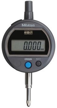 Mitutoyo Digital Indicators ID-S Solar, 12.7 mm Range, 0.001 mm Resolution, Flat Back (1 EA/EA)