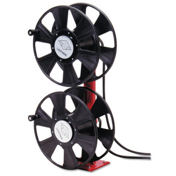 Reelcraft 250 AMP Arc Weld, Dual Stacked without Cable Hose Reel, 24 ft Hose, 150 ft Cable (1 EA/EA)