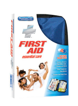 First Aid Only Soft-Sided First Aid Kits, 95 Piece, Fabric (12 EA/EA)