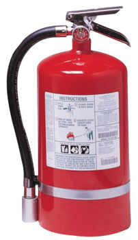 Kidde Halotron I Fire Extinguishers, For Class B and C Fires, 15 1/2 lb Cap. Wt. (1 EA/RE)