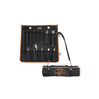 Klein Tools UTILITY INSULATED 13-PCTOOL KIT W/ROLL-UP CASE (1 EA/EA)
