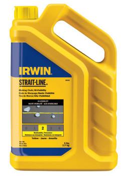 Stanley Products Hi-Visibility Marking Chalks, 5 lb, Hi Vis Yellow (1 JUG/PK)