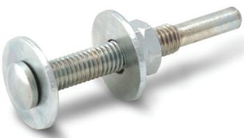 CGW Abrasives EZ Strip Shafts, 1/4 in x M8 (1 EA/BOX)