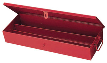 Stanley Products Extra Heavy-Duty Set Boxes, 9 1/16 in D, Steel, Red (1 EA/CA)